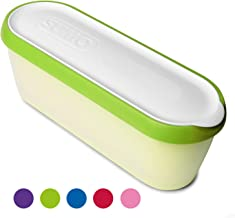 SUMO Ice Cream Containers: Insulated Ice Cream Tub for Homemade Ice-Cream, Gelato or Sorbet - Dishwasher Safe - 1.5 Quart Capacity [Green, 1-Pack]