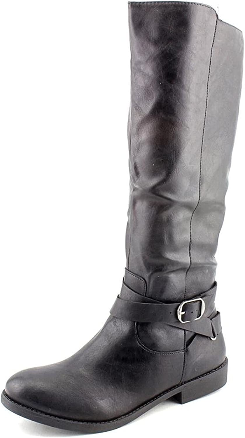 Style & Co. Women's Shoes Madixe Round Toe Knee High Riding Boots
