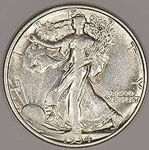 1934 D Walking Liberty Half Dollar AU+