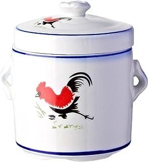 Ciya Rooster 450CC Porcelain Steam Pot