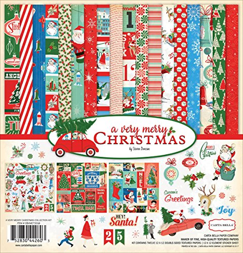 Carta Bella Paper Company Merry Christmas Collection Kit |