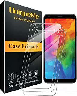 [3 Pack] INGLE Compatible with LG Q7 Plus/LG Q7 Screen Protector,9H Hardness Bubble Free Tempered Glass with Lifetime Replacement Warranty