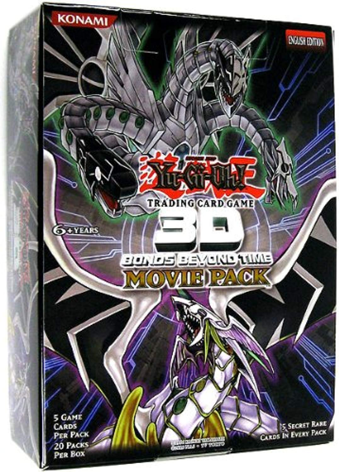 Yugioh Movie booster Pack Trading autod packet (confezione da 20)