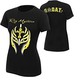 WWE Rey Mysterio Greatest Mask of All Time Women's Authentic T-Shirt
