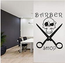 Barbería Pegatinas De Pared Salón De Belleza Citas Arte Tatuajes De Pared Decoración De La Habitación Mural Diseño De La H...