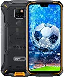 DOOGEE S68 Pro Telephone Portable Incassable, Helio P70 Octa Core 6 Go 128 Go, Smartphone Antichoc IP68, 6300mAh (Charge sans Fil), Caméra 21 MP + 16 MP, 5,9'' FHD + Gorilla Glass 4, GPS NFC Orange
