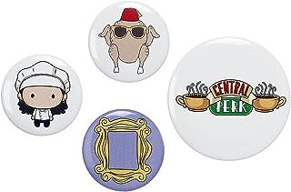 The Carat Shop - Juego de insignias de botón de Monica oficial de los amigos