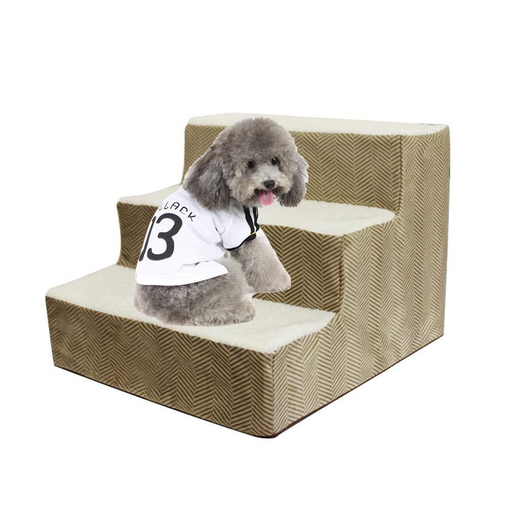 GoldCister Escaleras para Subir Mascotas, escalones para Mascotas para Perros/Gatos, Escalera para Subir Perros, escalón para escaleras para Perros, escaleras de Esponja para Perros a la Cama: Amazon.es: Productos para mascotas