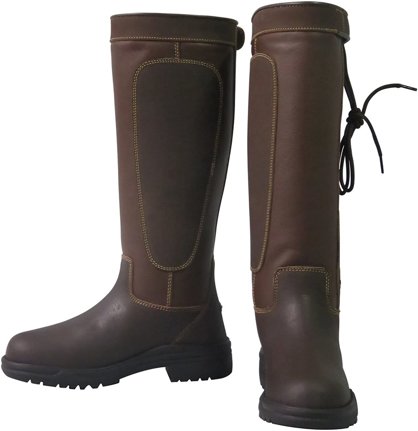 TuffRider Ladies Ajuste Waterproof Leather Country Boots