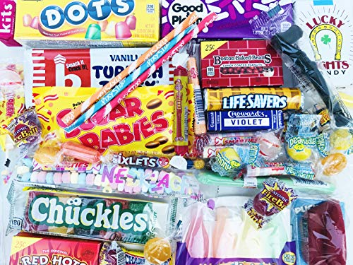 Woodstock Candy Classic Old Fashioned Vintage Candy Assortment for Birthday Party Celebration, Get Well, Thinking of You - Jr