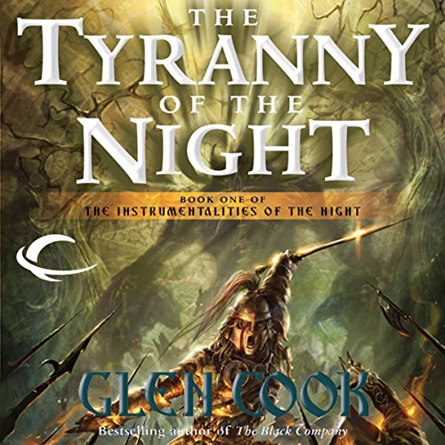 The Tyranny of the Night audiobook cover art