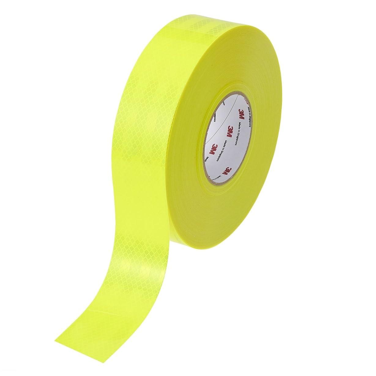 臭いリングシンポジウム3M ダイヤモンドグレード反射シート 蛍光黄緑 PX9423 50.8mmX45.7m