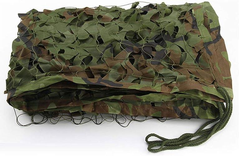 Camping Masque Camping Camo Net , Filet de camouflage dans la jungle , AugHommestez le filet de renforceHommest , Convient pour la chasse militaire à l'ombre de l'armée Champ de tir extérieur Cacher la voit