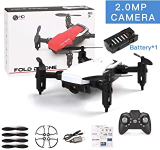 OUYAWEI LF606 Mini Drone with Camera Altitude Hold RC Drones with Camera HD WiFi FPV Quadcopter Dron RC Helicopter VS Z1, JDRC JD-16, HDRC D2, SM M1 2.0MP Camera WiFi White