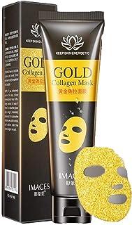 Mascarilla facial removedora de puntos negros y acné, antiarrugas, reafirmante, hidratante, limpieza de poros faciales, producto de cuidado de la piel, máscara de colágeno de oro de 24 quilates