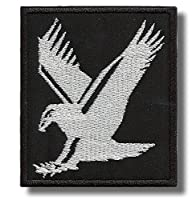 Eagle - 刺繍パッチ 7 x 8 cm