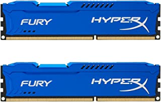 Kingston HyperX FURY 16GB Kit (2x8GB) 1600MHz DDR3 CL10 DIMM - Blue (HX316C10FK2/16)