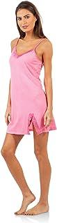 Casual Nights Women's Sleepwear Lace Trim Slip Nightie Chemises