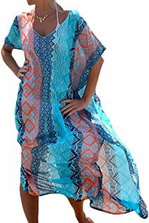 acheter populaire 6c575 9cf4c Amazon.fr : Robe Grande Taille - Cache-maillots et sarongs ...