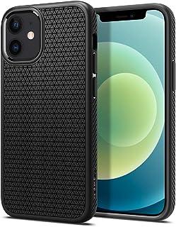 Spigen Liquid Air Armor Designed for Apple iPhone 12 Mini Case (2020) - Matte Black