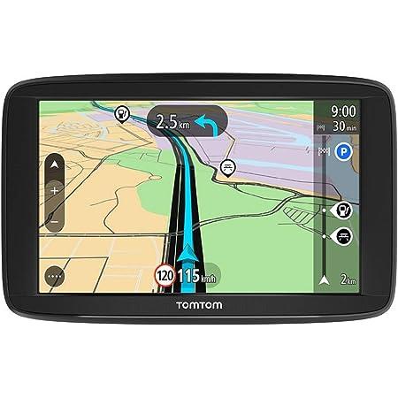 Tomtom Navigationsgerät Start 62 6 Zoll Karten Updates Europa Fahrspurassistent Tmc Freisprechen Navigation