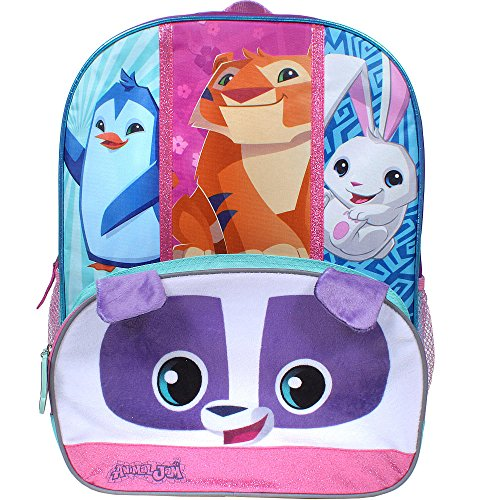 Animal Jam 16 inch Backpack with Side Mesh Pockets