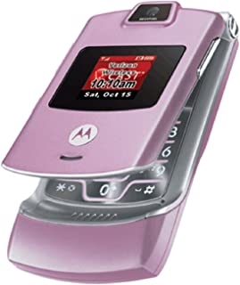 Verizon Motorola RAZR V3m No Contract 3G Camera MP3 GPS Cell Phone Pink