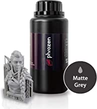 Phrozen ABS-Like Resin: Matte Gray (LCD UV Curing Resin) for General Modeling and Prototyping, Applicable to 3D Printer (500g)