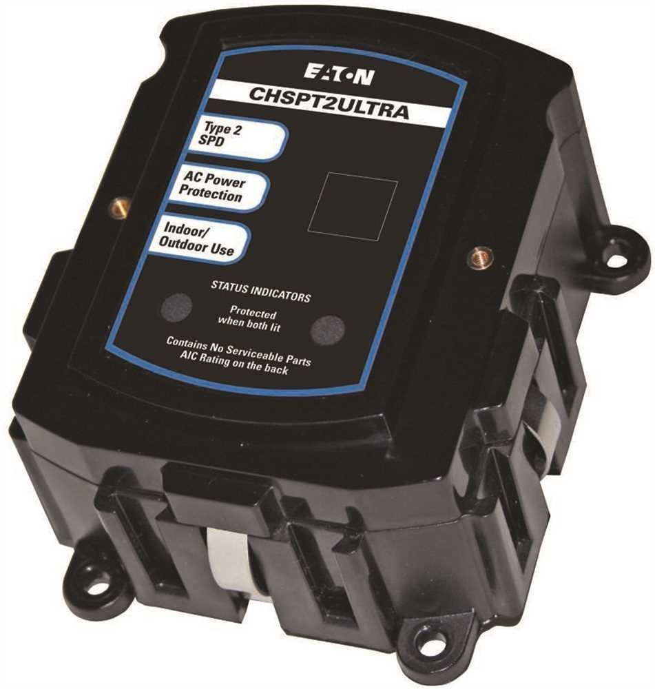 EATON CHSPT2ULTRA Ultimate Surge Protection 3rd Edition, 2.38