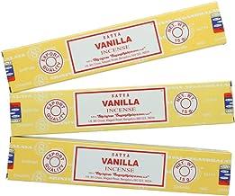 Satya Nag Champa Vanilla Incense Sticks - 3 Packs