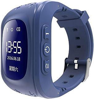 KUYG Kids Smartwatches, Smart Polshorloge Kids Smart Positionering Call Horloge Multi-Taal voor Kinderen