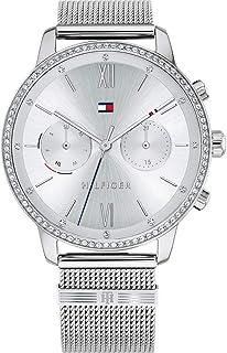 Tommy Hilfiger Reloj Analógico para Mujer de Cuarzo con Correa en Acero Inoxidable 1782301