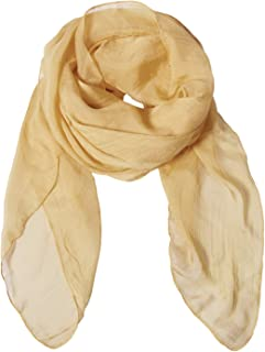 Solid Color Silk Scarf Can Be Used as Shawl, Scarf and Wrap