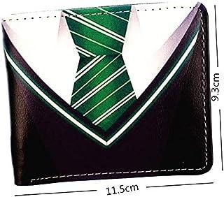 9fe41011e5657 Wyaing Harry Potter Portefeuille Court Gryffondor Poufsouffle Costume de  Serpentard Serpentard Cravate Design Sac pour Jeune