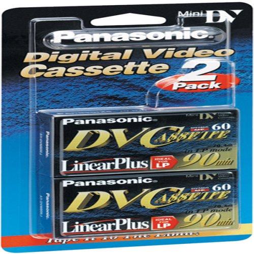 Best Price Panasonic AYDVM60EJ2 Mini Digital Video Cassette (60 min, 2 Pack)