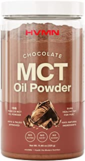 Sponsored Ad - H.V.M.N. MCT Oil Powder - Keto Creamer Powder, for Keto Coffee Creamer, Keto Shake - Pure C8 MCT Oil from A...