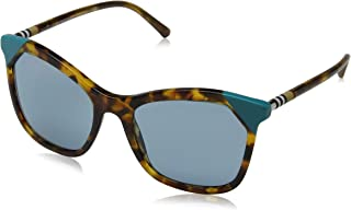 Burberry Cat Eye Sunglasses For Women, Turquoise - BE4263 37108054