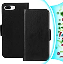 FYY Case for iPhone 8 Plus/iPhone 7 Plus (5.5 inch), [RFID Blocking] [Resist Harmful Organism] PU Leather Wallet Case with...