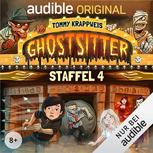 Ghostsitter: Die komplette 4. Staffel cover art