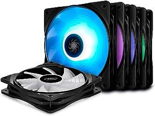 DeepCool Fans RF Series 5*Fan RF120 120mm Multi-Coloured