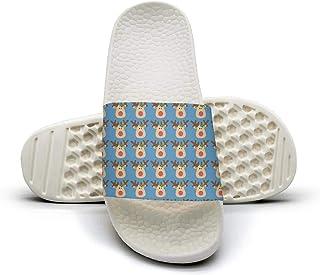 601b1fb86e174 Man Math Mapping Abstract Formulas Slip on Beach Sandals and Anti-Slip  Shower Slipper Comfort