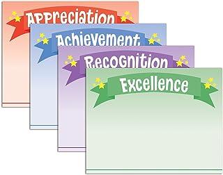 优质纸张! 星条幅证书分类,21.59 cm x 27.94 cm,60 张 (2011852)