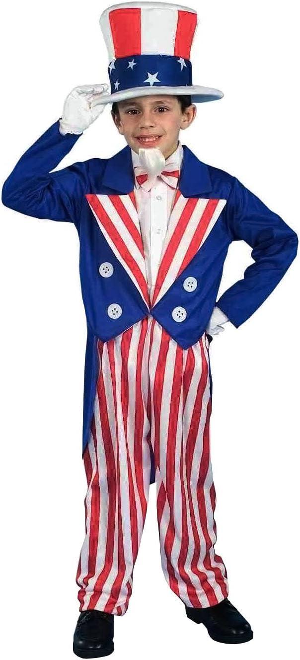 Forum Novelties Patriotic Party Sequin Uncle Sam Costume Kit