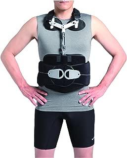 Orthomen TLSO Back Brace - Thoracic Lumbo Sacral Orthosis Support Scoliosis Brace (Universal)