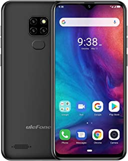QUZH Cell Phones Smartphone Note 7P, 3GB+32GB, Triple Rear Cameras & Face Unlock & Fingerprint ID Identification, 6.1 inch Waterdrop Screen, Android 9.0 MT6761 Quad-core 64-bit 2.0GHz, Network: 4G, Du