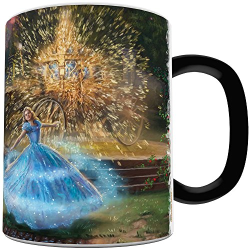 Morphing Mugs Disney - Cinderella Wishes Granted - Heat Reactive Color Changing Coffee or Tea Mug