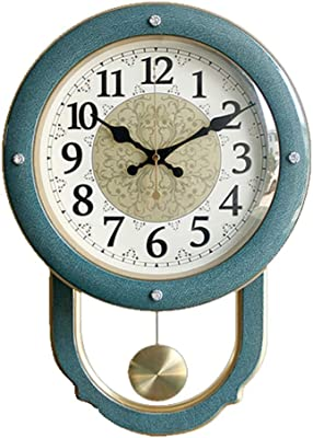 SHIERDIAN Salon créatif Horloge Murale personnalité Moderne