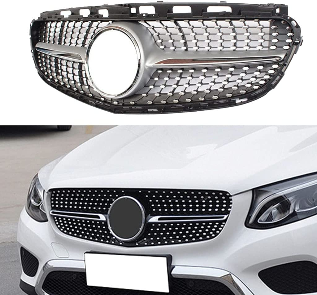 WJYCGFKJ for Class E Outlet ☆ Free Shipping New product type W212 2014-2015 ABS Grill Front Silver Kidne