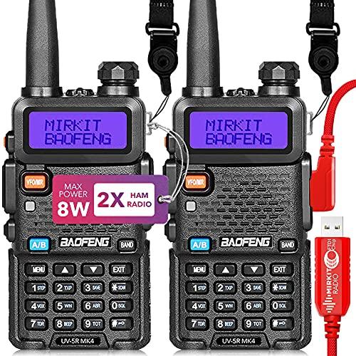 Mirkit 2X Ham Radios Baofeng UV5R...