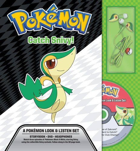 Catch Snivy! A Pokémon Look & Listen Set (Pokemon Pikachu Press)